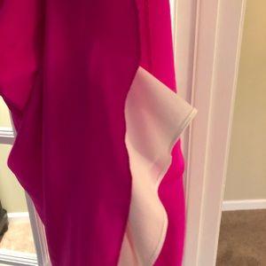 d335d257a5ac Amanda Uprichard Other - NWT Amanda Uprichard neon pink silk circle romper